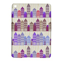 Houses City Pattern Ipad Air 2 Hardshell Cases