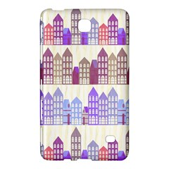 Houses City Pattern Samsung Galaxy Tab 4 (8 ) Hardshell Case