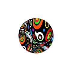 Background Balls Circles Golf Ball Marker