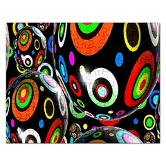 Background Balls Circles Rectangular Jigsaw Puzzl