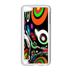 Background Balls Circles Apple Ipod Touch 5 Case (white) by Nexatart