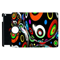 Background Balls Circles Apple Ipad 3/4 Flip 360 Case by Nexatart