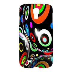 Background Balls Circles Samsung Galaxy S4 I9500/i9505 Hardshell Case by Nexatart