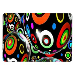 Background Balls Circles Samsung Galaxy Tab 8 9  P7300 Flip Case