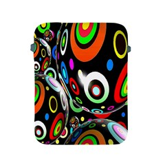 Background Balls Circles Apple Ipad 2/3/4 Protective Soft Cases by Nexatart