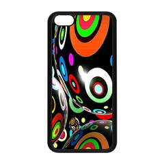 Background Balls Circles Apple Iphone 5c Seamless Case (black) by Nexatart
