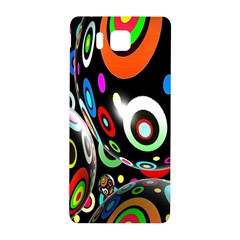 Background Balls Circles Samsung Galaxy Alpha Hardshell Back Case by Nexatart