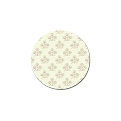 Seamless Floral Pattern Golf Ball Marker by TastefulDesigns
