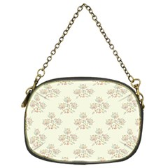 Seamless Floral Pattern Chain Purses (one Side)  by TastefulDesigns