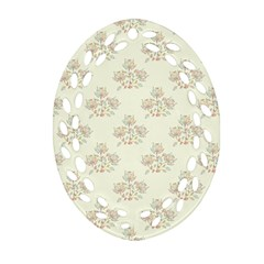 Seamless Floral Pattern Ornament (oval Filigree) by TastefulDesigns