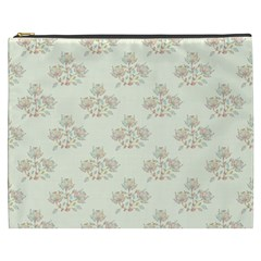 Seamless Floral Pattern Cosmetic Bag (XXXL)  by TastefulDesigns