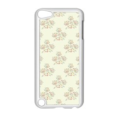 Seamless Floral Pattern Apple Ipod Touch 5 Case (white) by TastefulDesigns