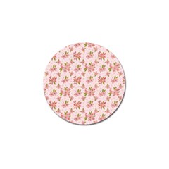 Beautiful Hand Drawn Flowers Pattern Golf Ball Marker (4 Pack) by TastefulDesigns
