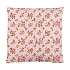 Beautiful Hand Drawn Flowers Pattern Standard Cushion Case (one Side) by TastefulDesigns