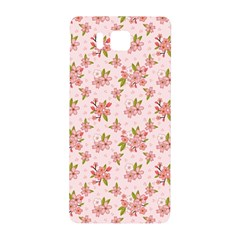 Beautiful Hand Drawn Flowers Pattern Samsung Galaxy Alpha Hardshell Back Case by TastefulDesigns