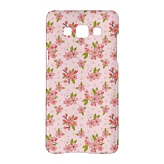 Beautiful Hand Drawn Flowers Pattern Samsung Galaxy A5 Hardshell Case  by TastefulDesigns