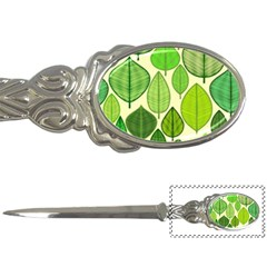 Leaves Pattern Design Letter Openers by TastefulDesigns