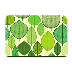 Leaves Pattern Design Small Doormat  by TastefulDesigns