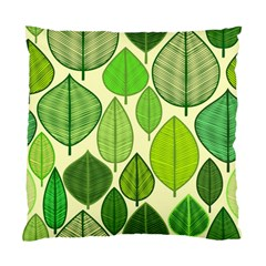 Leaves Pattern Design Standard Cushion Case (two Sides) by TastefulDesigns