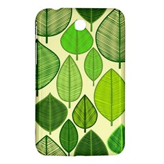 Leaves Pattern Design Samsung Galaxy Tab 3 (7 ) P3200 Hardshell Case  by TastefulDesigns