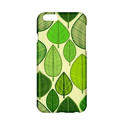 Leaves Pattern Design Apple Iphone 6/6s Hardshell Case by TastefulDesigns
