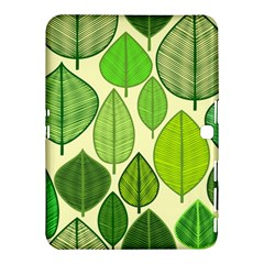 Leaves Pattern Design Samsung Galaxy Tab 4 (10 1 ) Hardshell Case  by TastefulDesigns