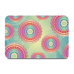 Abstract Geometric Wheels Pattern Plate Mats by LovelyDesigns4U