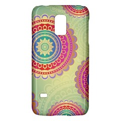 Abstract Geometric Wheels Pattern Galaxy S5 Mini by LovelyDesigns4U