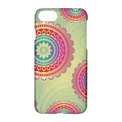 Abstract Geometric Wheels Pattern Apple Iphone 7 Hardshell Case by LovelyDesigns4U