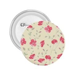 Seamless Flower Pattern 2 25  Buttons by TastefulDesigns