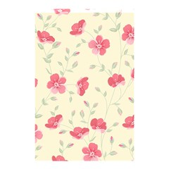 Seamless Flower Pattern Shower Curtain 48  X 72  (small)  by TastefulDesigns