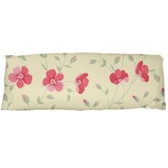 Seamless Flower Pattern Body Pillow Case Dakimakura (two Sides) by TastefulDesigns
