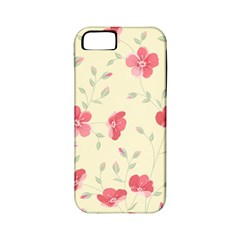 Seamless Flower Pattern Apple Iphone 5 Classic Hardshell Case (pc+silicone) by TastefulDesigns