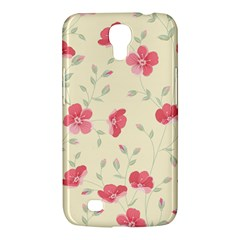 Seamless Flower Pattern Samsung Galaxy Mega 6 3  I9200 Hardshell Case by TastefulDesigns