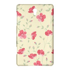 Seamless Flower Pattern Samsung Galaxy Tab S (8.4 ) Hardshell Case  by TastefulDesigns