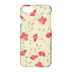 Seamless Flower Pattern Apple iPhone 7 Hardshell Case by TastefulDesigns