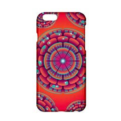 Pretty Floral Geometric Pattern Apple Iphone 6/6s Hardshell Case by LovelyDesigns4U