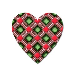Gem Texture A Completely Seamless Tile Able Background Design Heart Magnet by Nexatart