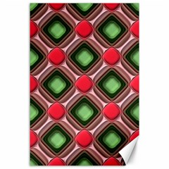 Gem Texture A Completely Seamless Tile Able Background Design Canvas 24  X 36  by Nexatart