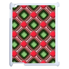 Gem Texture A Completely Seamless Tile Able Background Design Apple Ipad 2 Case (white) by Nexatart