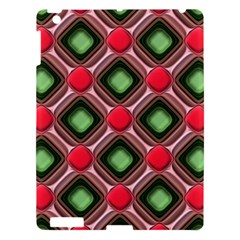 Gem Texture A Completely Seamless Tile Able Background Design Apple Ipad 3/4 Hardshell Case by Nexatart