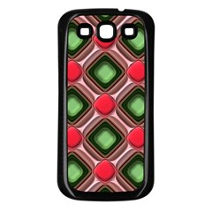 Gem Texture A Completely Seamless Tile Able Background Design Samsung Galaxy S3 Back Case (black)