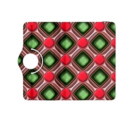 Gem Texture A Completely Seamless Tile Able Background Design Kindle Fire Hdx 8 9  Flip 360 Case by Nexatart