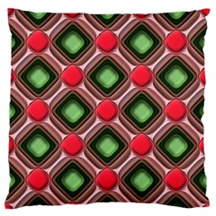 Gem Texture A Completely Seamless Tile Able Background Design Large Flano Cushion Case (one Side)