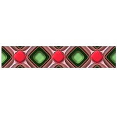 Gem Texture A Completely Seamless Tile Able Background Design Flano Scarf (large) by Nexatart