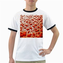 Water Drops Background Ringer T Shirts