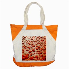 Water Drops Background Accent Tote Bag by Nexatart