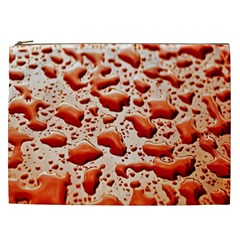 Water Drops Background Cosmetic Bag (xxl)  by Nexatart