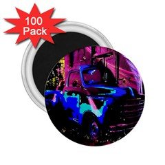 Abstract Artwork Of A Old Truck 2 25  Magnets (100 Pack)  by Nexatart