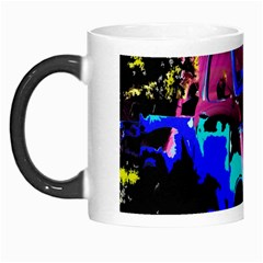 Abstract Artwork Of A Old Truck Morph Mugs by Nexatart